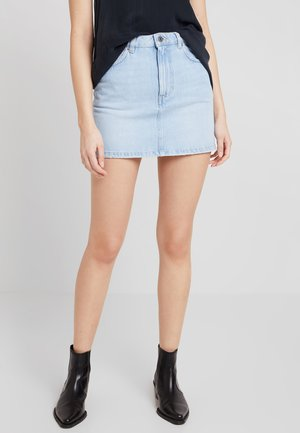 Denim skirt - beach blue