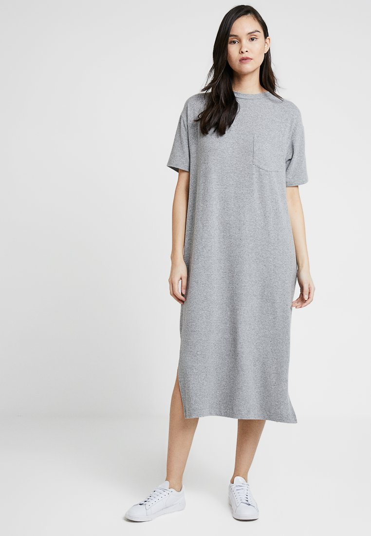 American Vintage - VETINGTON DRESS - Maxi dress - gris chine