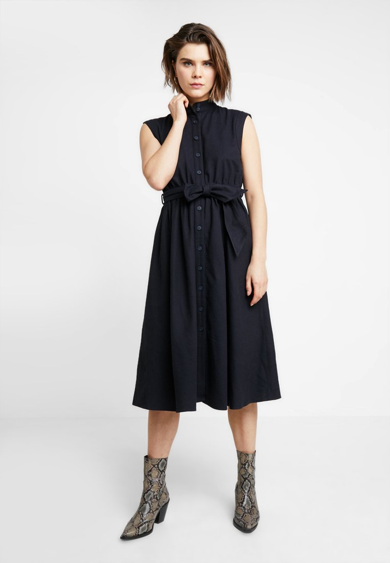 American Vintage - TATA - Košilové šaty - navy