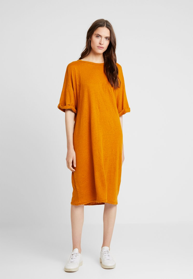 American Vintage - LOLOSISTER - Jersey dress - savane