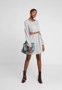 American Vintage - RETBURG - Sukienka letnia - gris chine - 1