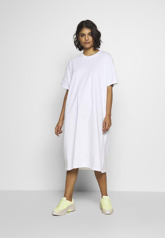 FIZVALLEY - Košilové šaty - blanc