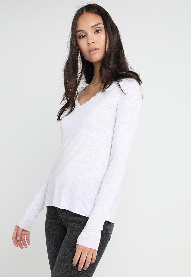 JACKSONVILLE - Maglietta a manica lunga - blanc