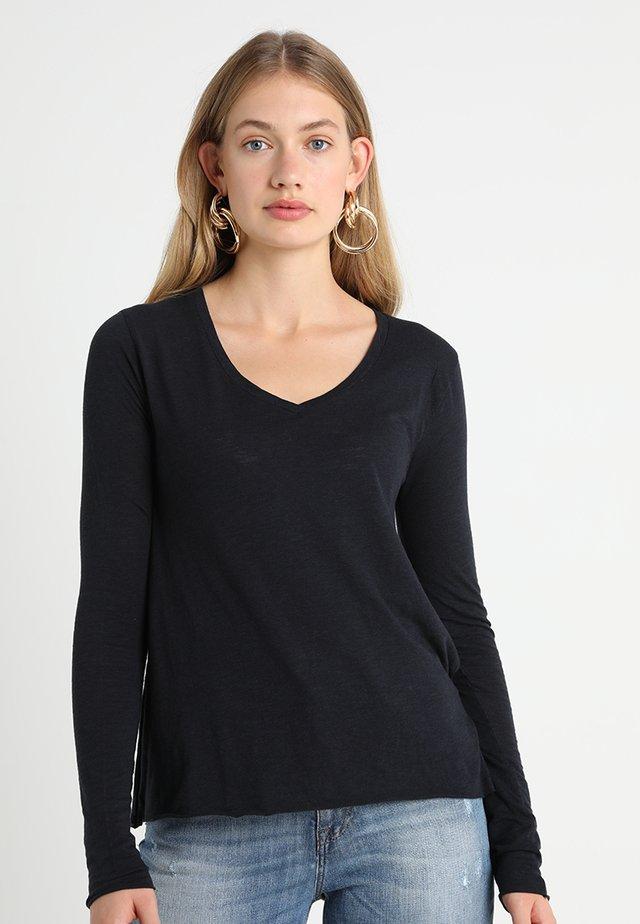 JACKSONVILLE - T-shirt à manches longues - navy