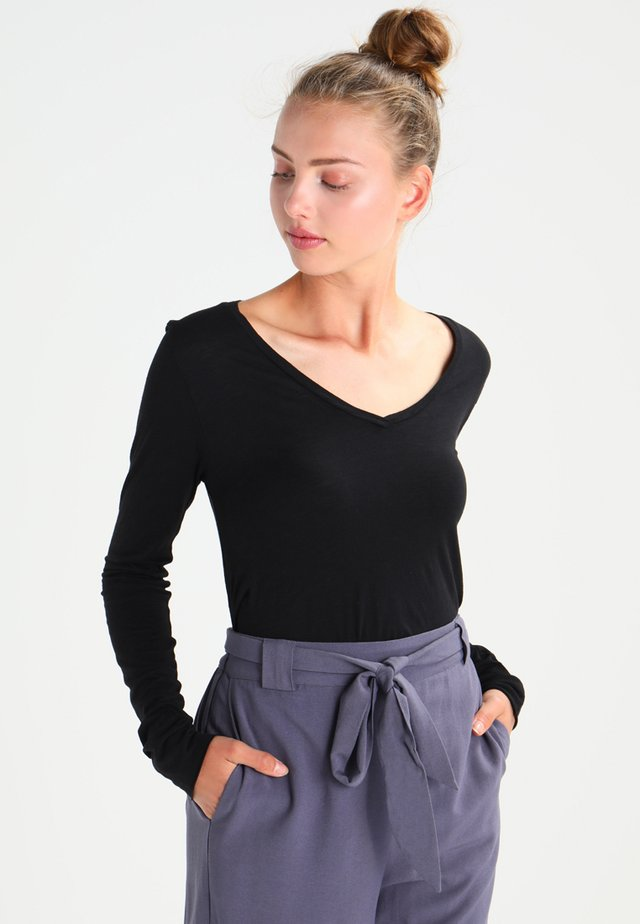 JACKSONVILLE - Long sleeved top - noir