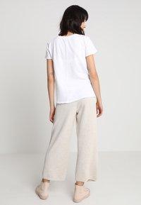 American Vintage - SONOMA V NECK TEE - T-shirt basic - white - 2