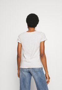 American Vintage - SONOMA V NECK TEE - T-shirt basic - polaire chine - 2