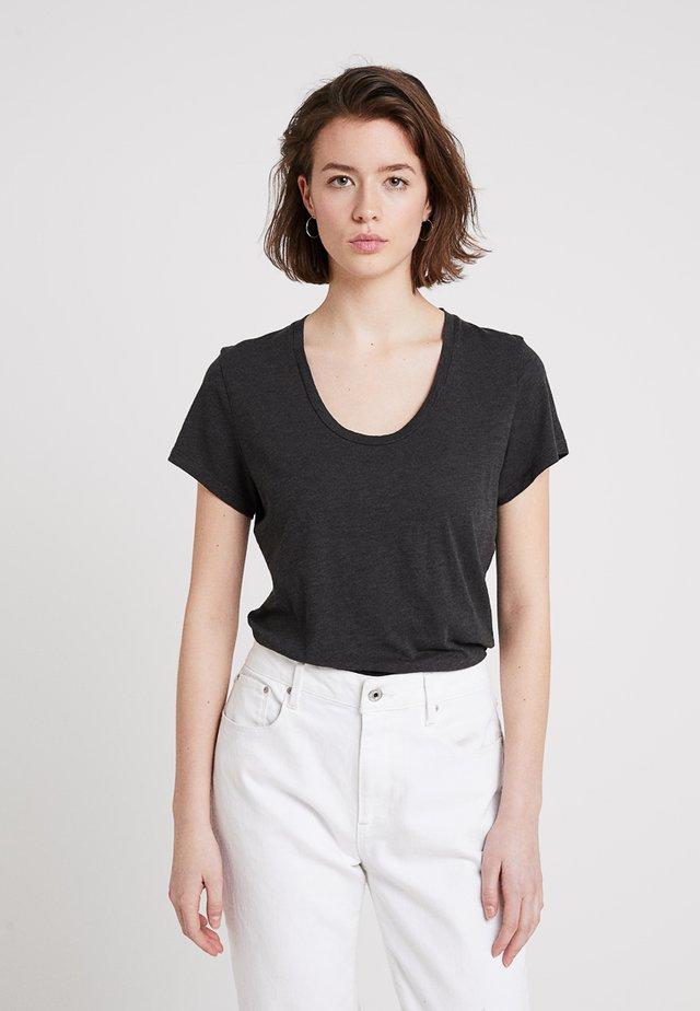 JACKSONVILLE ROUND NECK - T-shirt basic - carbone