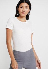 American Vintage - GAMIPY - T-shirts - blanc - 0