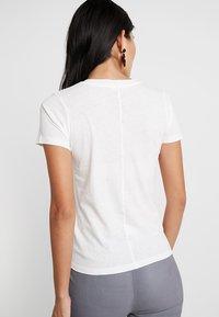 American Vintage - GAMIPY - T-shirts - blanc - 2