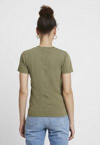 American Vintage - GAMIPY - T-shirts - amande vintage - 2