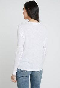 American Vintage - JACKSONVILLE ROUND NECK LONG SLEEVE - Maglietta a manica lunga - blanc - 2