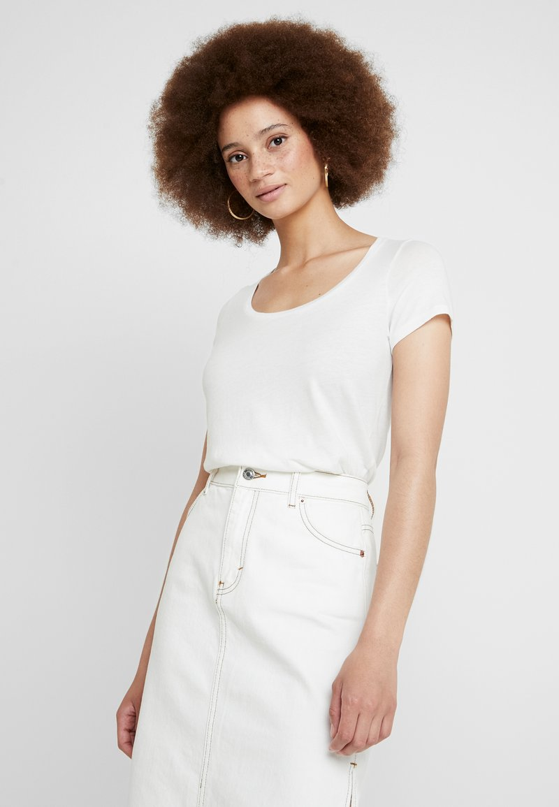 American Vintage - BIPCAT - T-Shirt basic - blanc