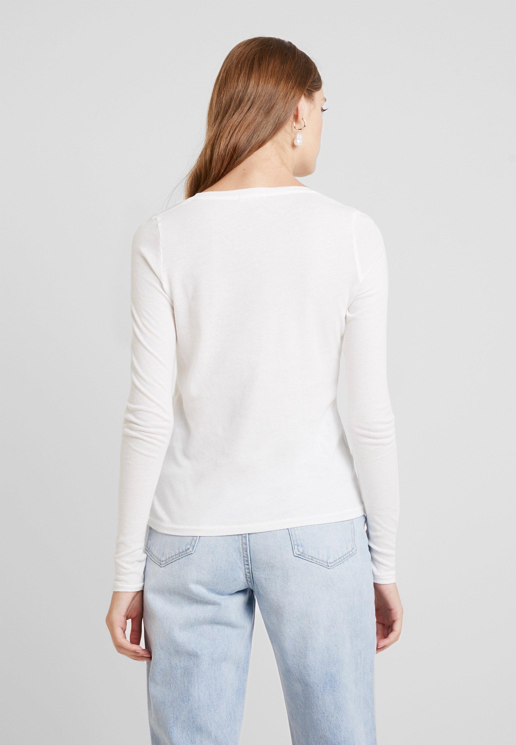 Manches Longues shirt À Vintage American Blanc BipcatT VzMSqpU
