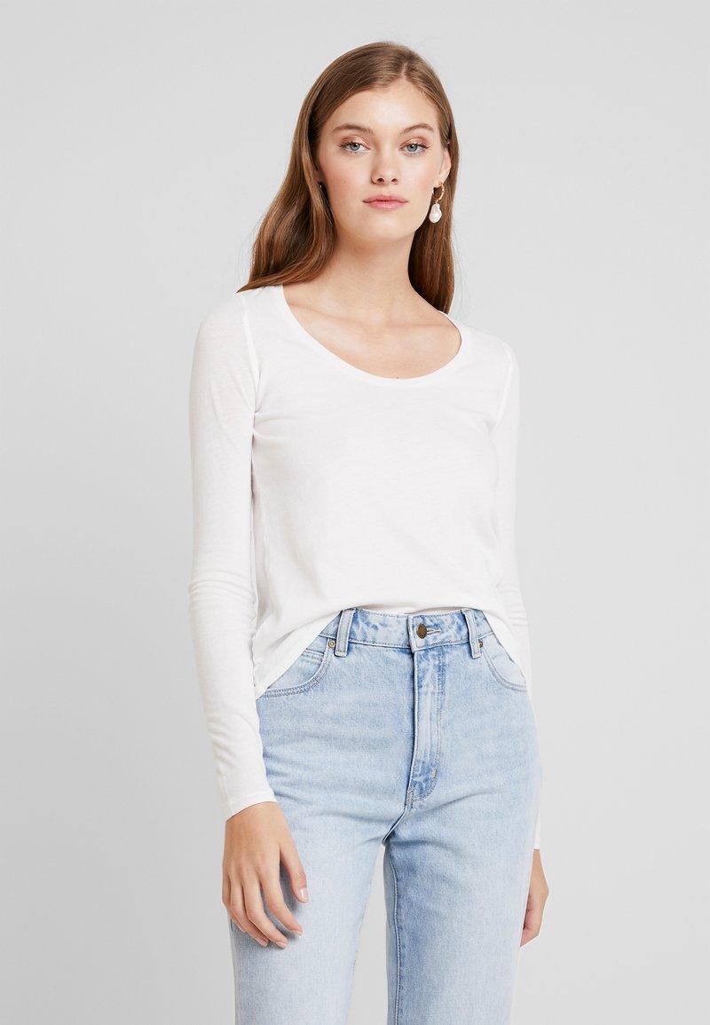 American Vintage - BIPCAT - Bluzka z długim rękawem - blanc