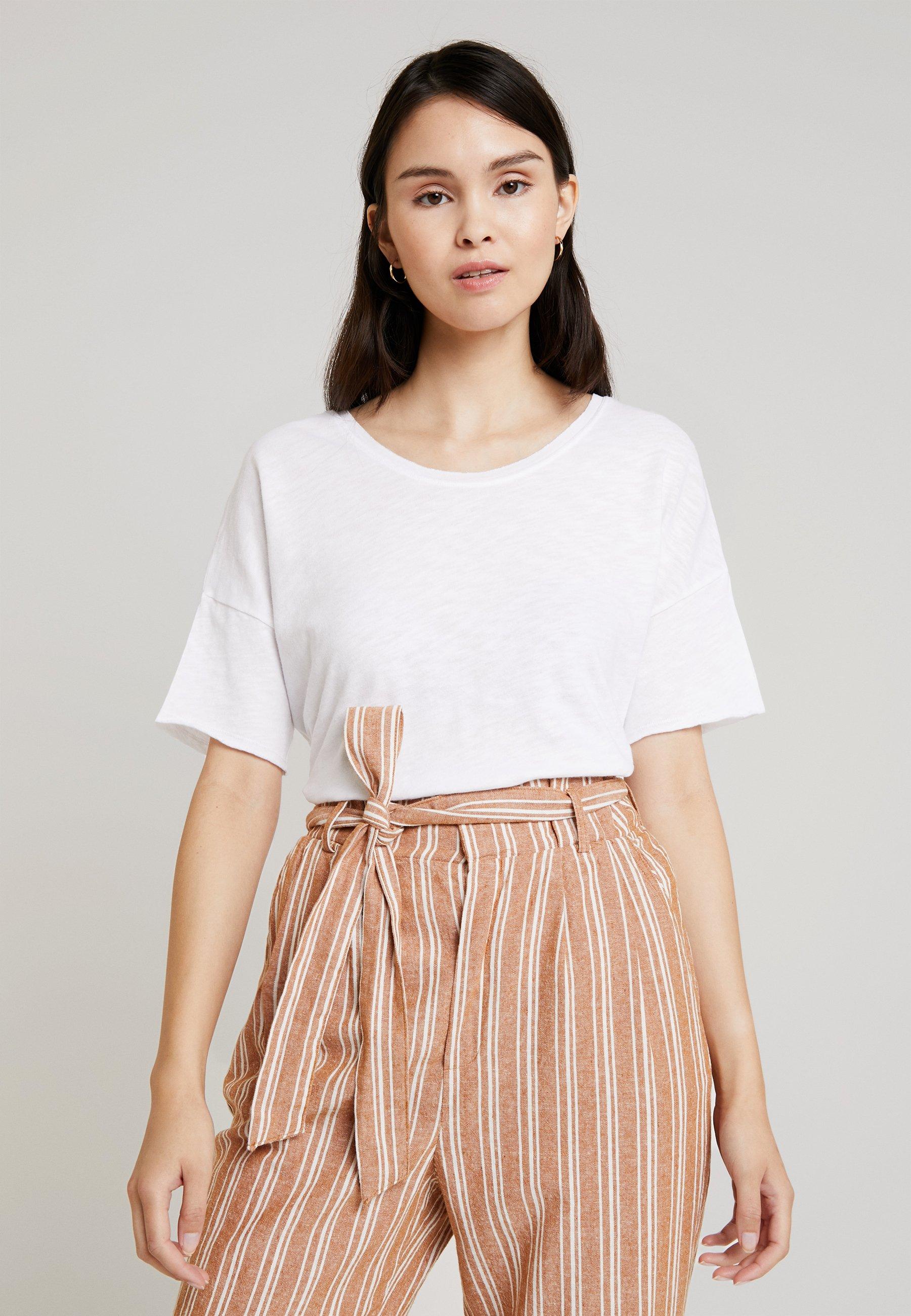 American Vintage SONOMA - T-shirts - blanc