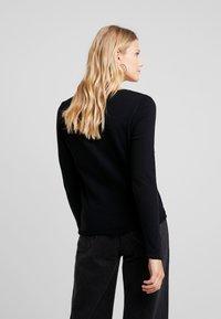 American Vintage - SONOMA - Maglietta a manica lunga - noir - 2