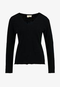 American Vintage - SONOMA - Maglietta a manica lunga - noir - 3