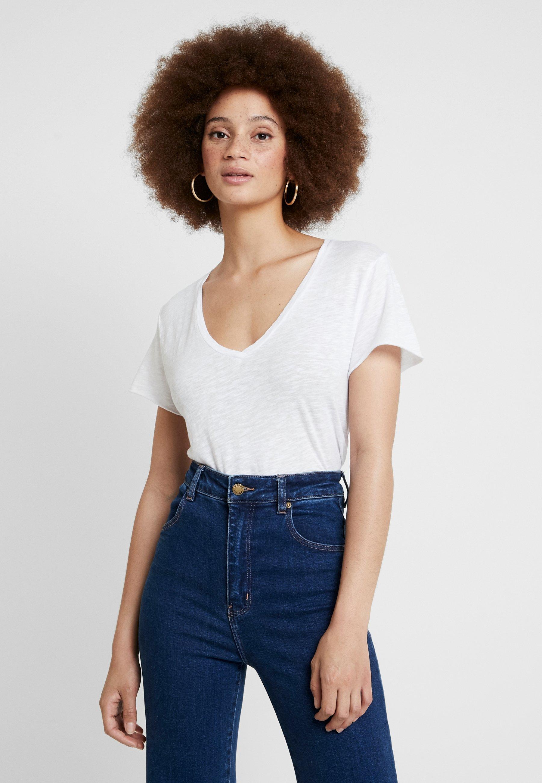 Basique American Vintage shirt Blanc KobibayT iuZOPkX