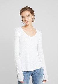 American Vintage - KOBIBAY - Bluzka z długim rękawem - blanc - 0