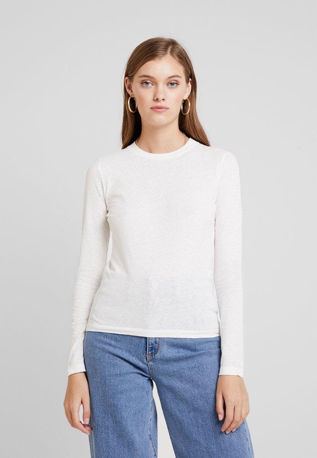 GAMIPY - Top sdlouhým rukávem - blanc