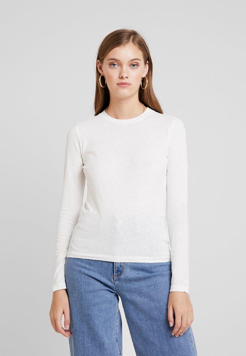 American Vintage - GAMIPY - Langarmshirt - blanc