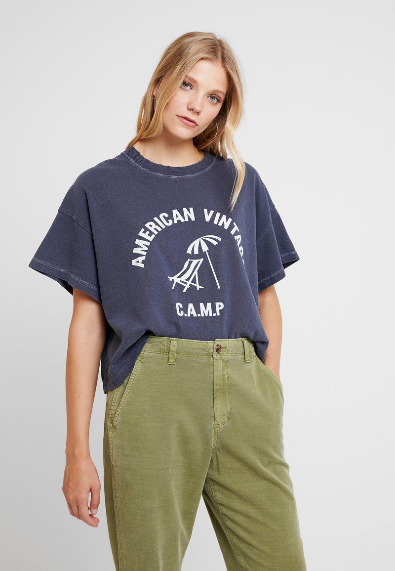 American NopymT Vintage Petrole Imprimé shirt 67fybg