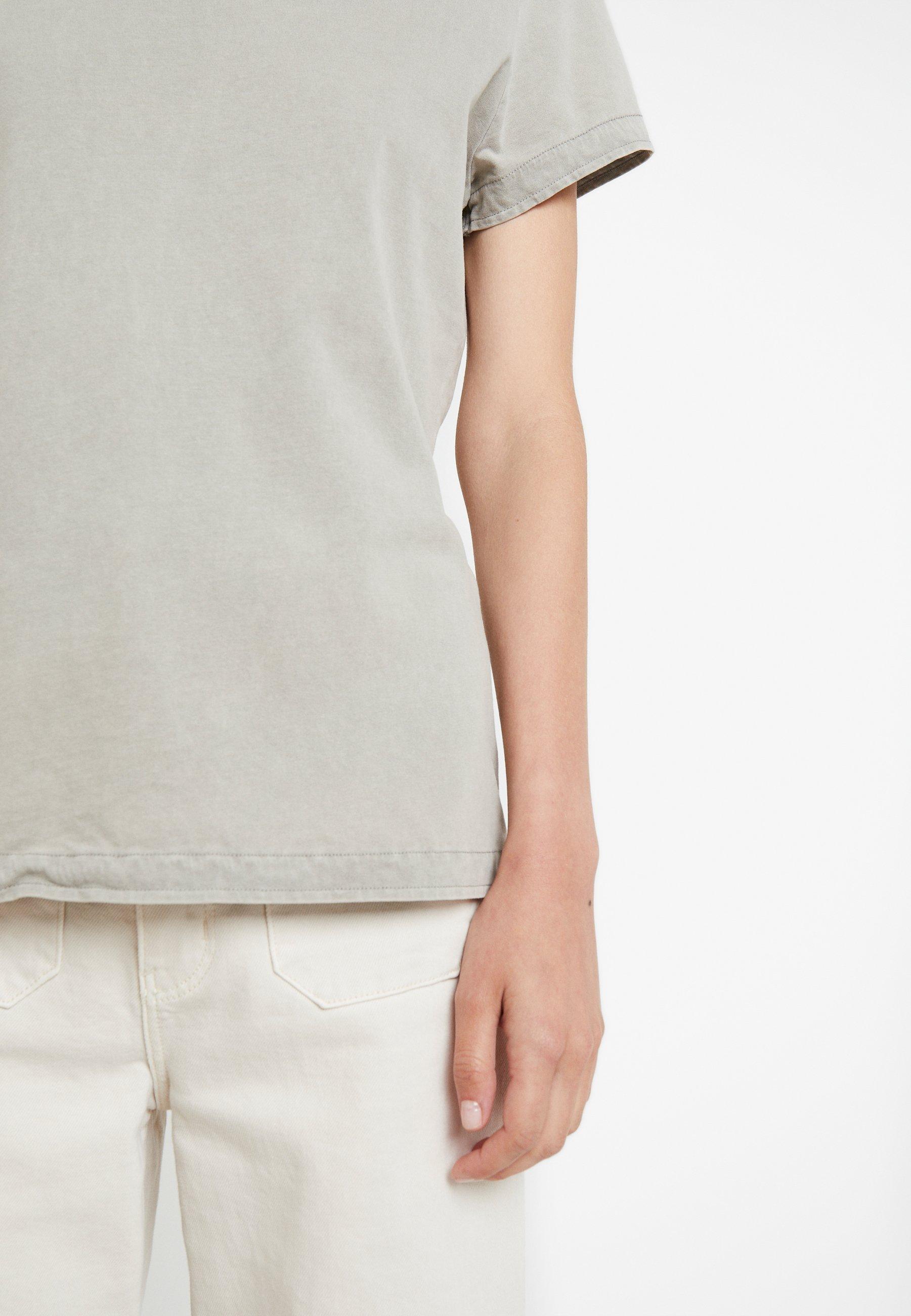 American Vintage FUZYCITY - T-shirt z nadrukiem - gris vintage