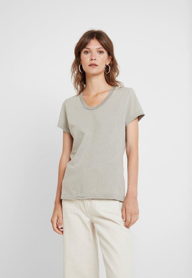 FUZYCITY - T-Shirt print - gris vintage