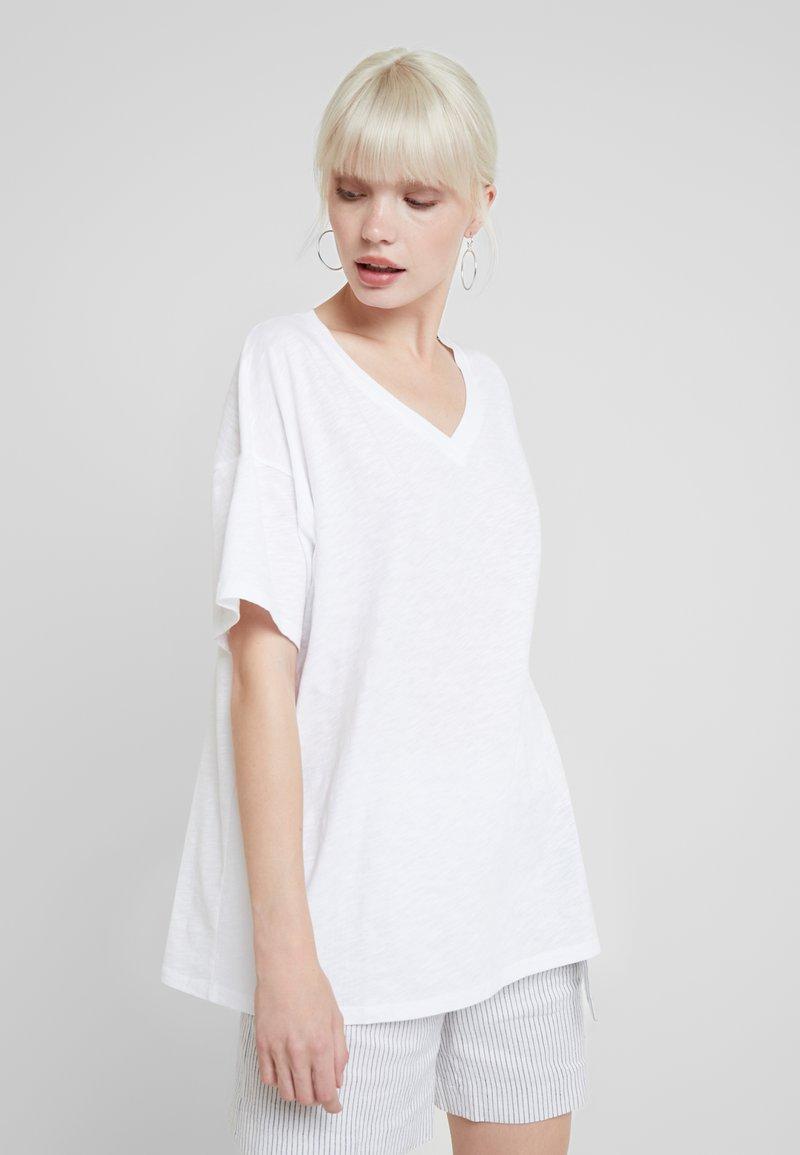 American Vintage - IDO - T-Shirt basic - blanc