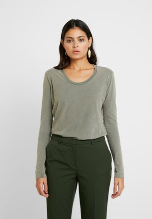 FUZYCITY - Long sleeved top - kaki