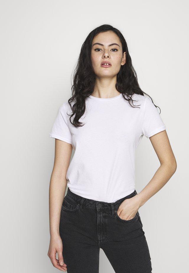 VEGIFLOWER - Basic T-shirt - blanc