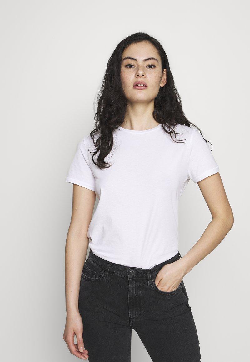 American Vintage - VEGIFLOWER - T-shirts - blanc