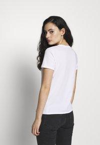 American Vintage - VEGIFLOWER - T-shirts - blanc - 2