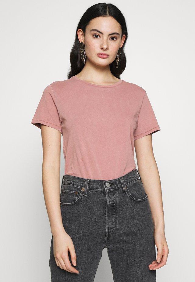 VEGIFLOWER - Basic T-shirt - pamplemousse