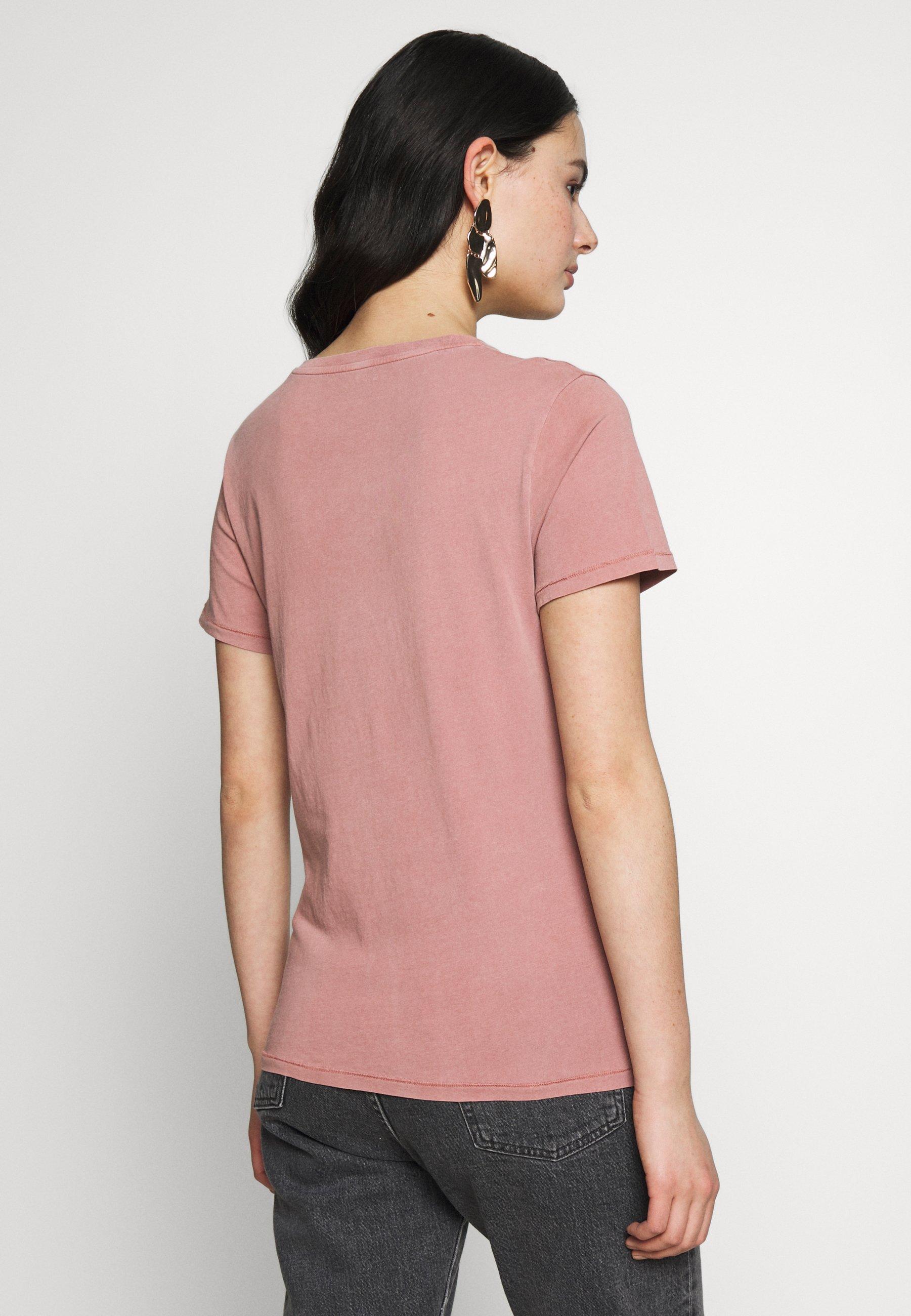American Vintage Vegiflower - T-shirts Basic Pamplemousse