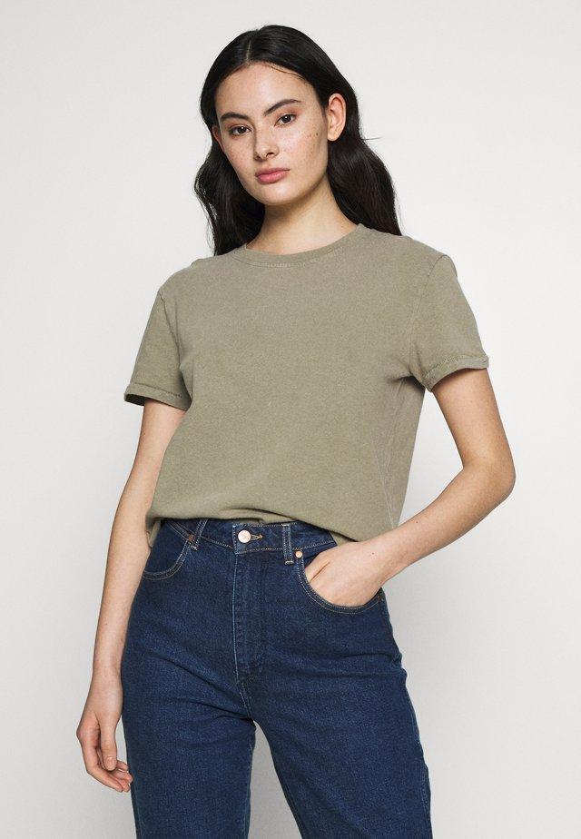 ZERITOWN - T-Shirt basic - verveine vintage
