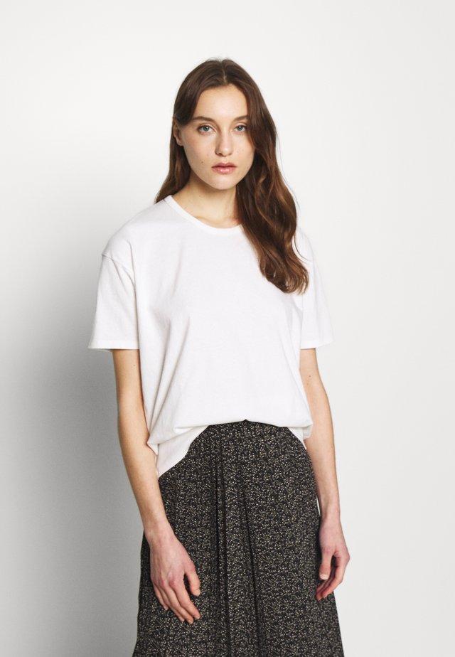 DINGCITY - T-Shirt basic - blanc