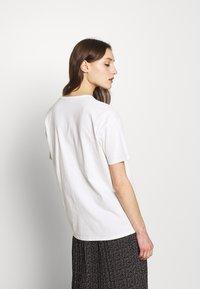American Vintage - DINGCITY - T-shirt basic - blanc - 2