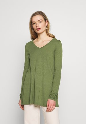 LORKFORD - T-shirt à manches longues - mottled olive