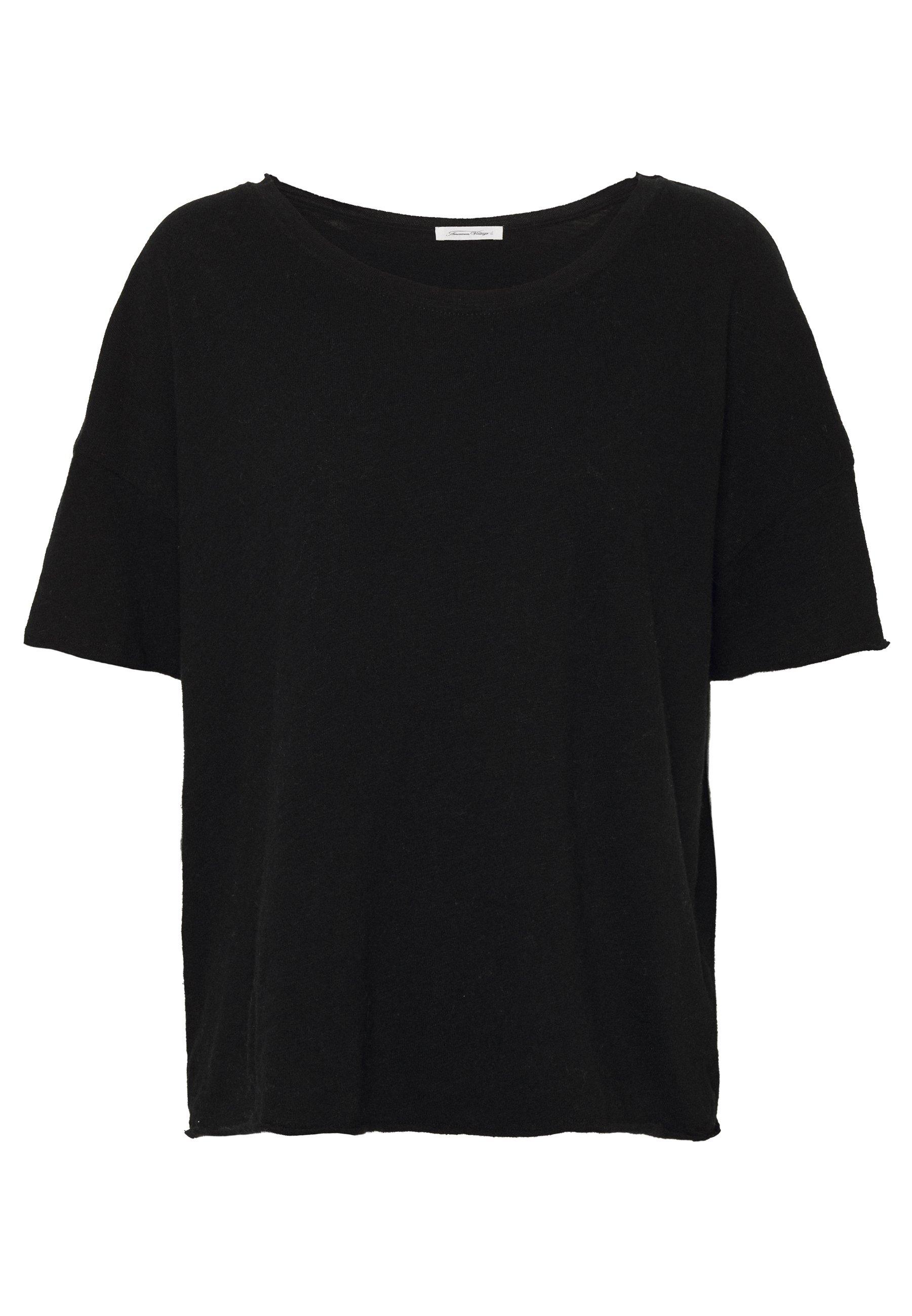 American Vintage SONOMA - T-shirt basic - noir