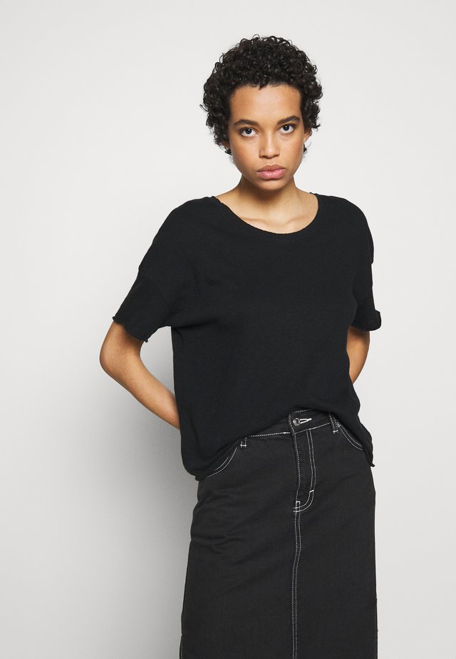 SONOMA - T-shirt basic - noir