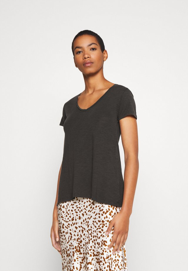 JACKSONVILLE - T-shirt - bas - carbone vintage