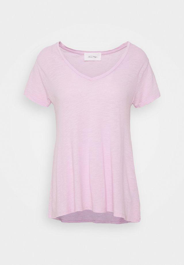 JACKSONVILLE - T-shirt basique - lilas vintage