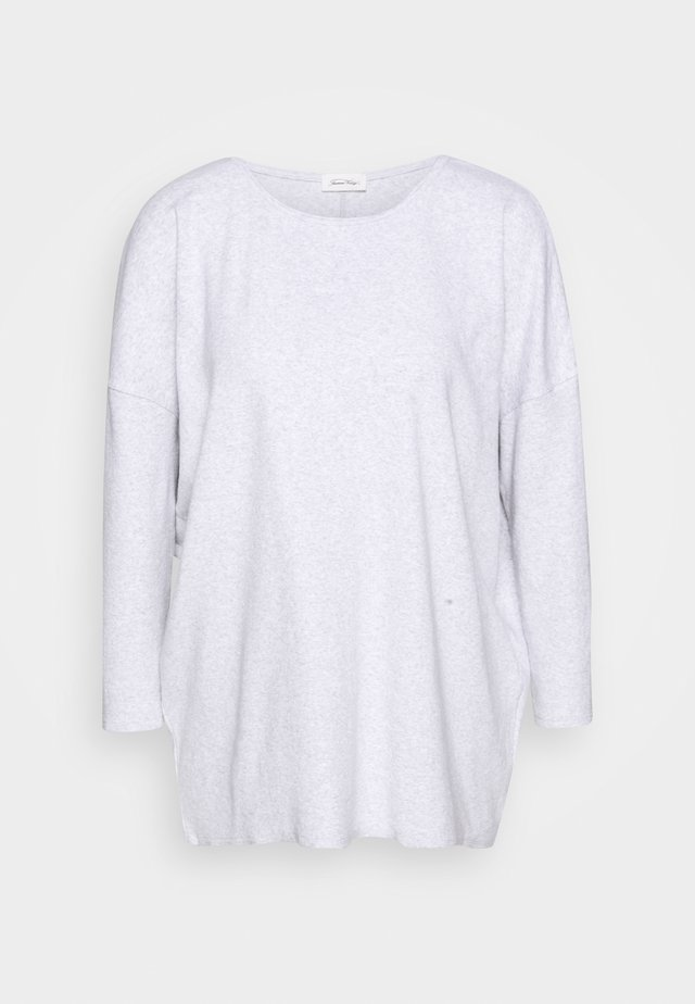 SONICAKE - Long sleeved top - light grey
