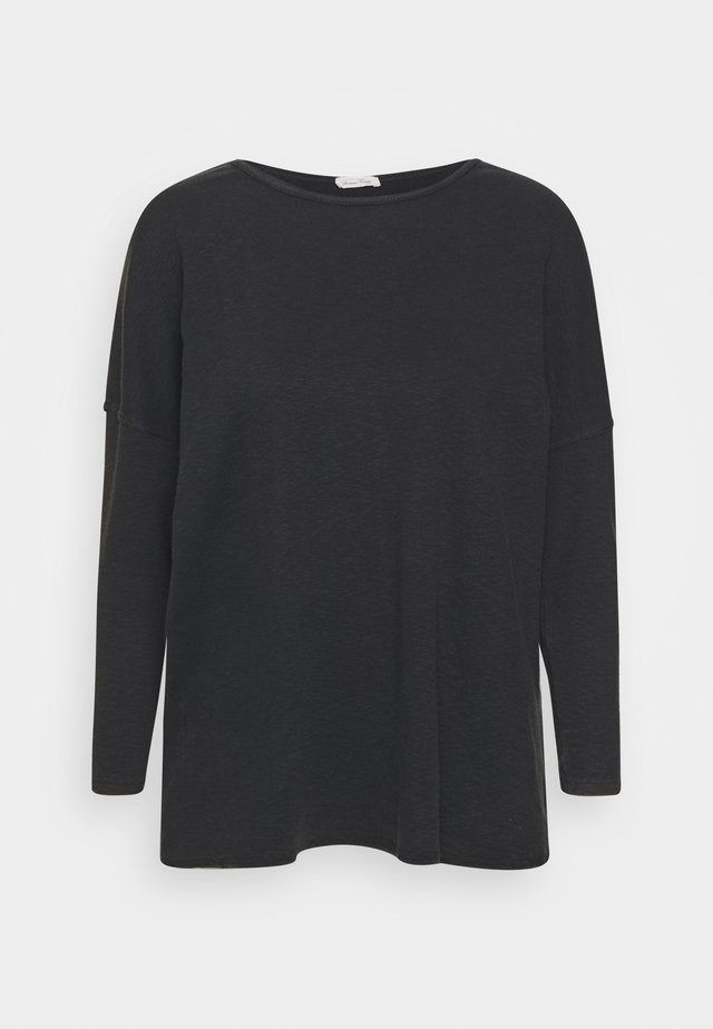 SONICAKE - Long sleeved top - noir vintage