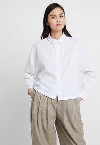 American Vintage - PIZABAY LONG SLEEVE - Koszula - blanc - 0