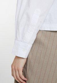 American Vintage - PIZABAY LONG SLEEVE - Koszula - blanc - 5