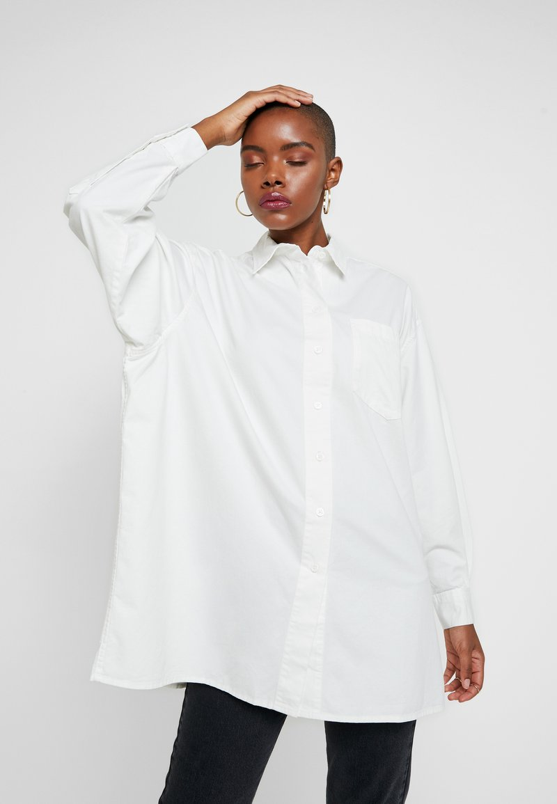 American Vintage - YTAMAY - Button-down blouse - blanc
