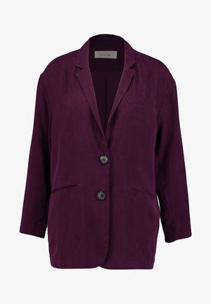 NALASTATE - Halflange jas - violett